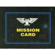 Choice of Mission Cards from Warhammer 40,000 2nd Edition